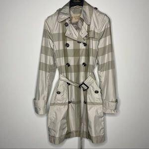 Burberry Brit Alcester NovaTrench Coat 8 Belted